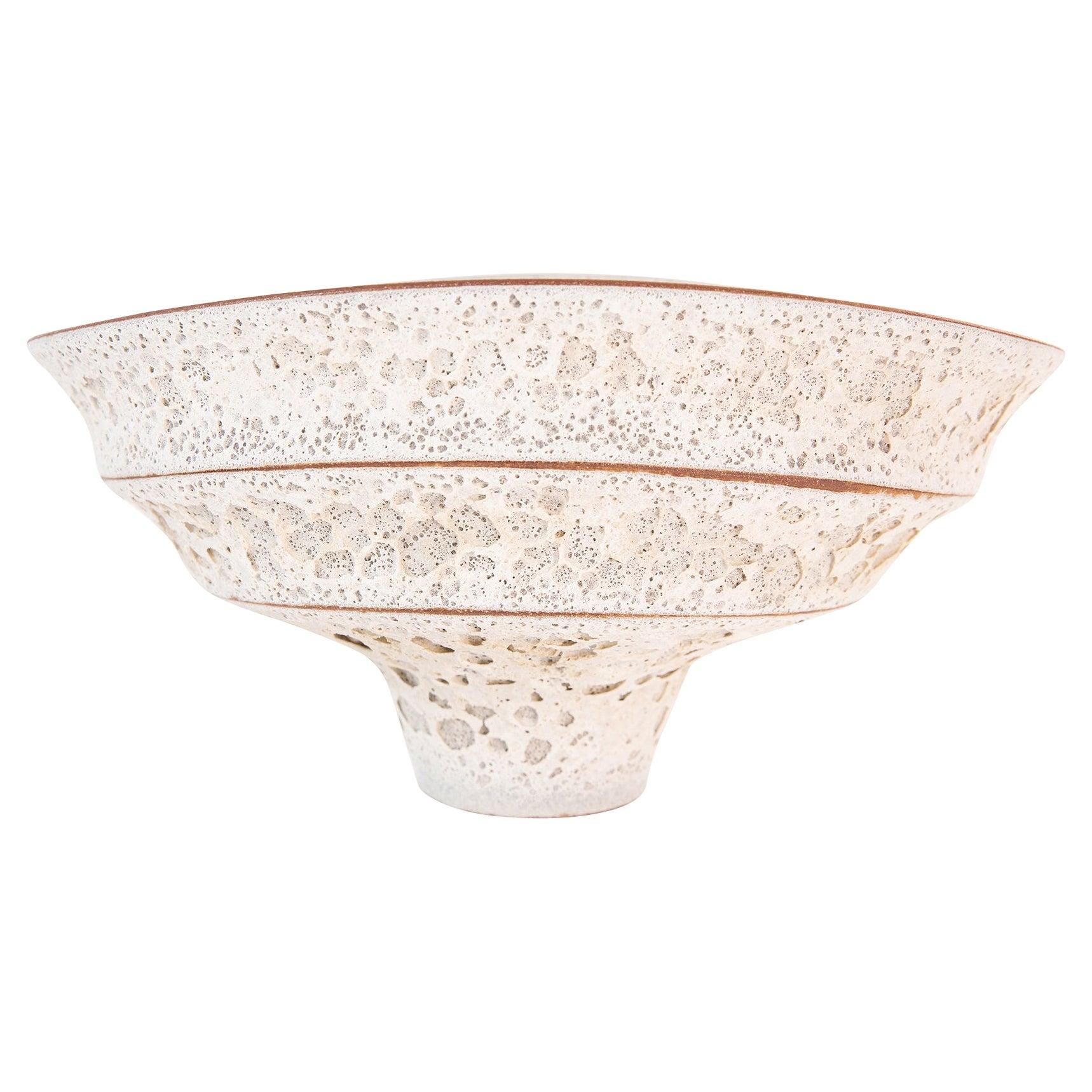 Jeremy Briddell Large Tiered Ceramic Bowl