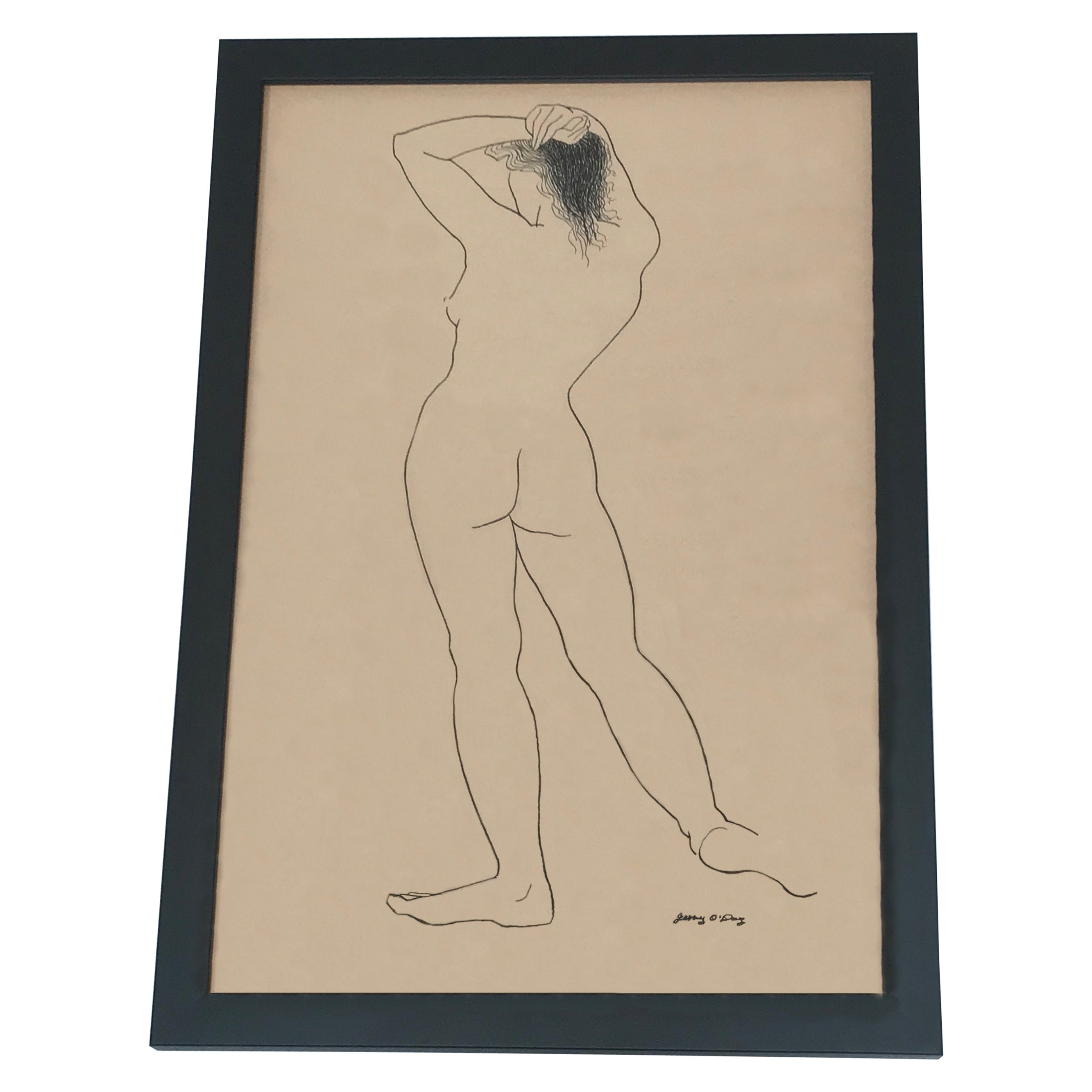 Jerry O'Day Nude Drawing #2