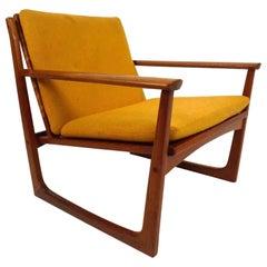 Hans Olsen Lounge Chair with Teak Back
