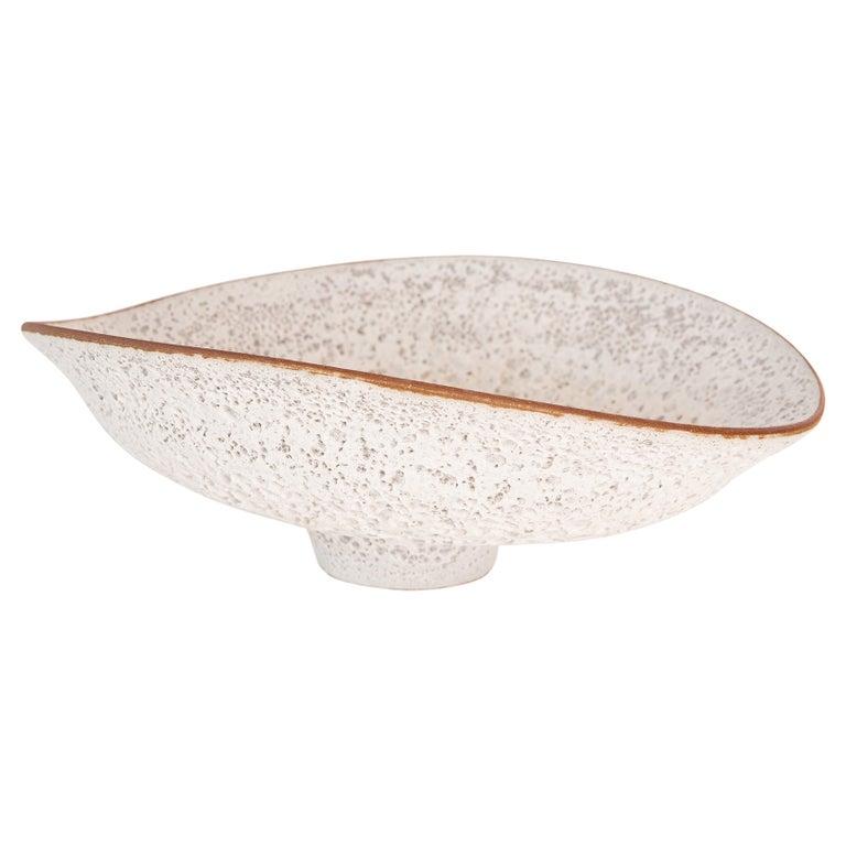Jeremy Briddell Large Volcanic Glaze Ceramic Bowl For Sale
