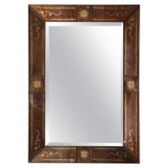 Large Labarge Eglomise Mirror