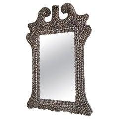 Hollywood Regency Sea Shell Mirror