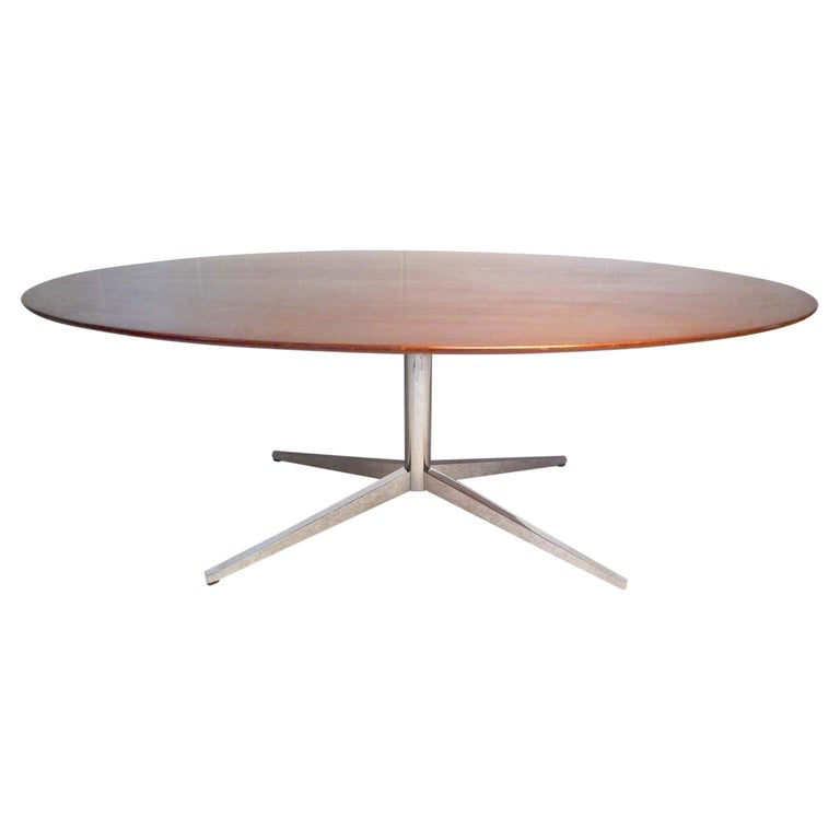 Midcentury Dining or Conference Table by Knoll For Sale