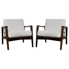 1960's Arne Wahl Iversen Easy Chairs by Komfort, Denmark