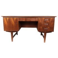 Desk in Teak of Danish Design from the 1960s