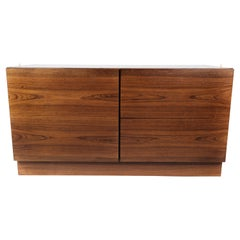 Low Chest of Drawers in Rosewood of Danish Design from the 1960s