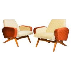 Midcentury Italian Armchairs, 1965