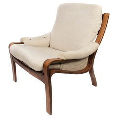 Easy Chairs in Rosewood, of Danish Design, 1960s