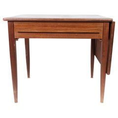 Side Table with Extensions in Teak of Danish Design by Silkeborg, 1960s