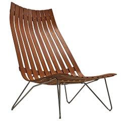 Hans Brattrud 'Scandia' Lounge Chair in Teak