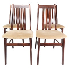 Set of Four Dining Room Chairs of Mahogany by Farstrup, 1960s