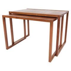 Nesting Table in Teak of Danish Design from the 1960s