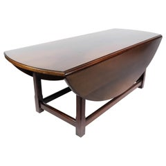 Coffee Table in Mahogany with Extentions, 1930s