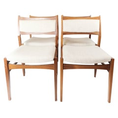 Set of Four Dining Room Chairs in Teak of Danish Design, 1960s