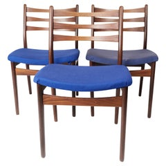 Set of Three Dining Room Chairs in Teak of Danish Design, 1960s