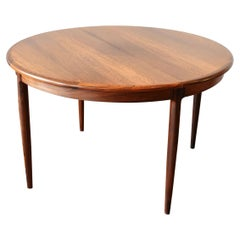 Vintage Rosewood Niels Otto Moller Extendable Table