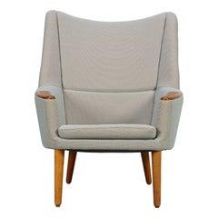 Danish Modern Lounge Chair Model 58 by Kurt Østervig Denmark, 1958 Teak Oak