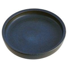Carl-Harry Stålhane large blue bowl, Rorstrand Studio, Sweden, 1960
