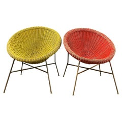 Amazing French Basket Chairs
