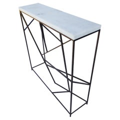 """36"""" Modern Iron Console Table"""