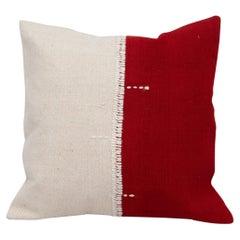 Kilim Perde Pillow Case from Anatolia Turkey, 1960s