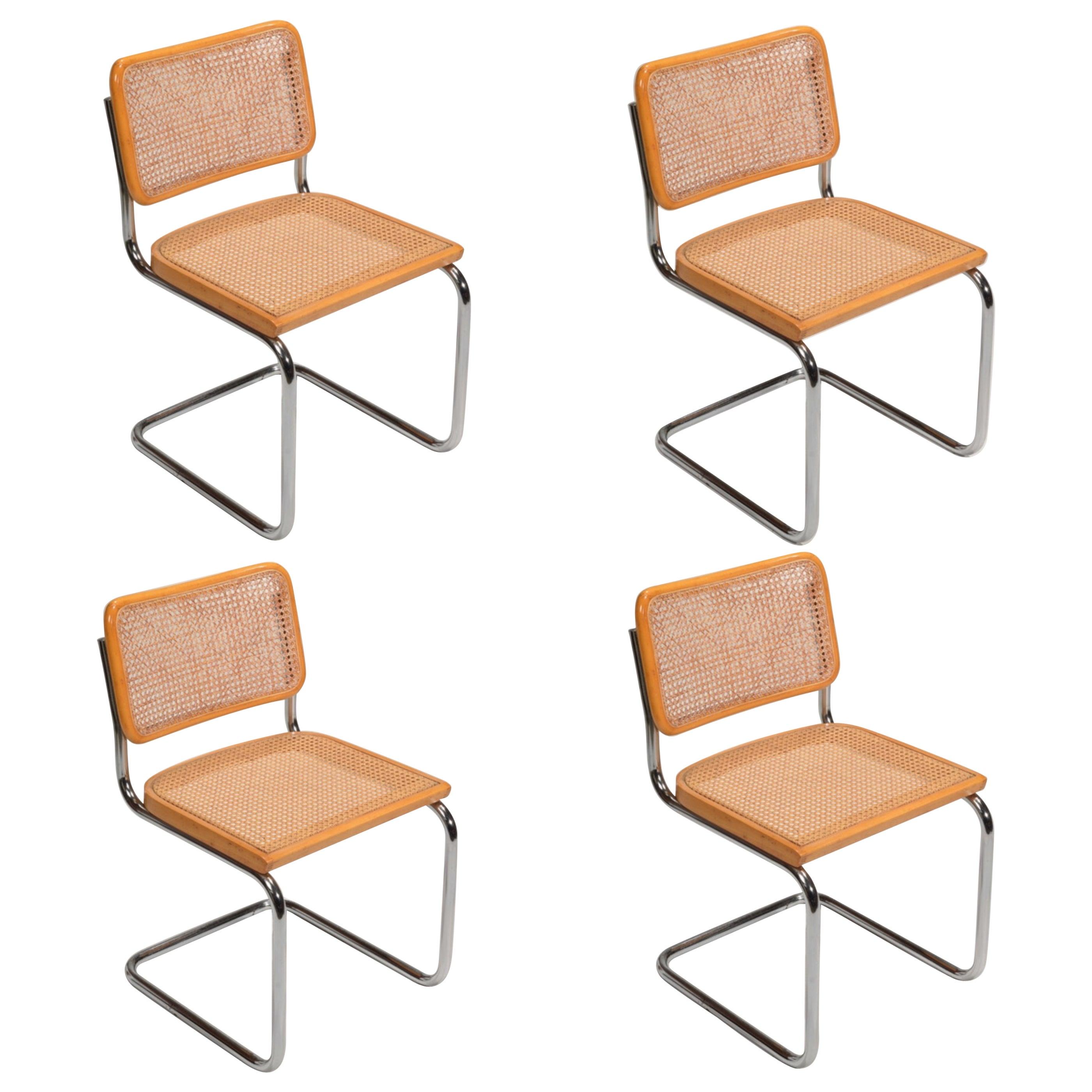Marcel Breuer Cesca Side Chairs