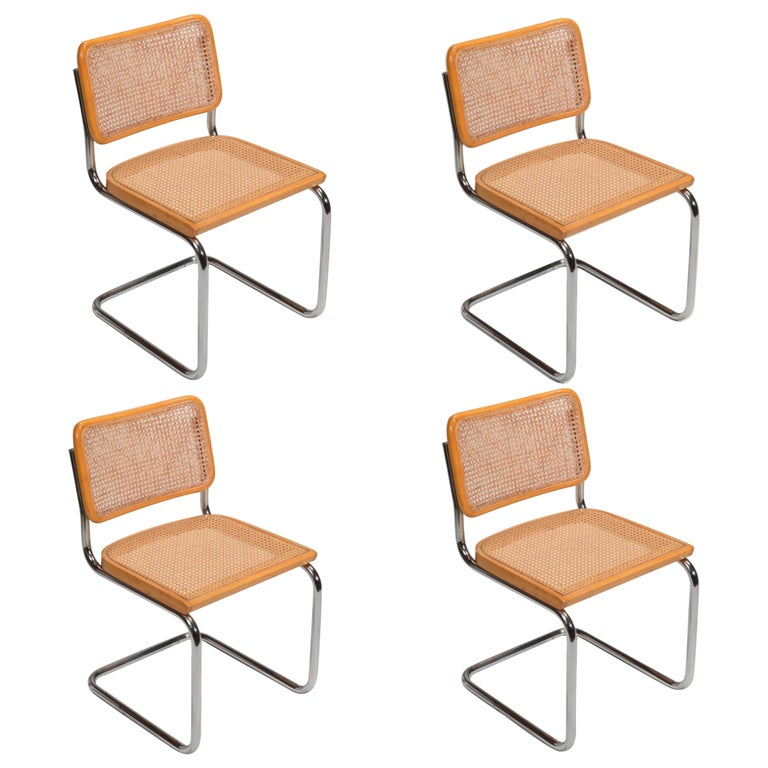 Marcel Breuer Cesca Side Chairs For Sale