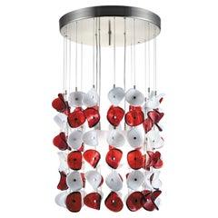 Artistic Handmade Modular Murano Glass, Mariposa by La Murrina and M.Piva
