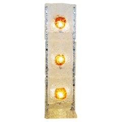 Mazzega Floor Lamp in Murano Glass, 1960s