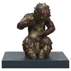 Royal Copenhagen Figurine by Knud Kyhn, Faun No 20230