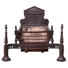 Cast Iron Victorian Fire Grate