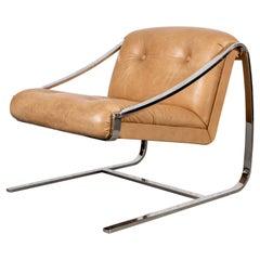 Charles Gibilterra for Brueton Modern Cantilever Armchair