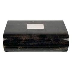 Tommaso Barbi Goatskin Box, Italy, 1970s