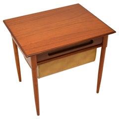 1960's Teak Vintage Side Table by Karl Edvard Korseth