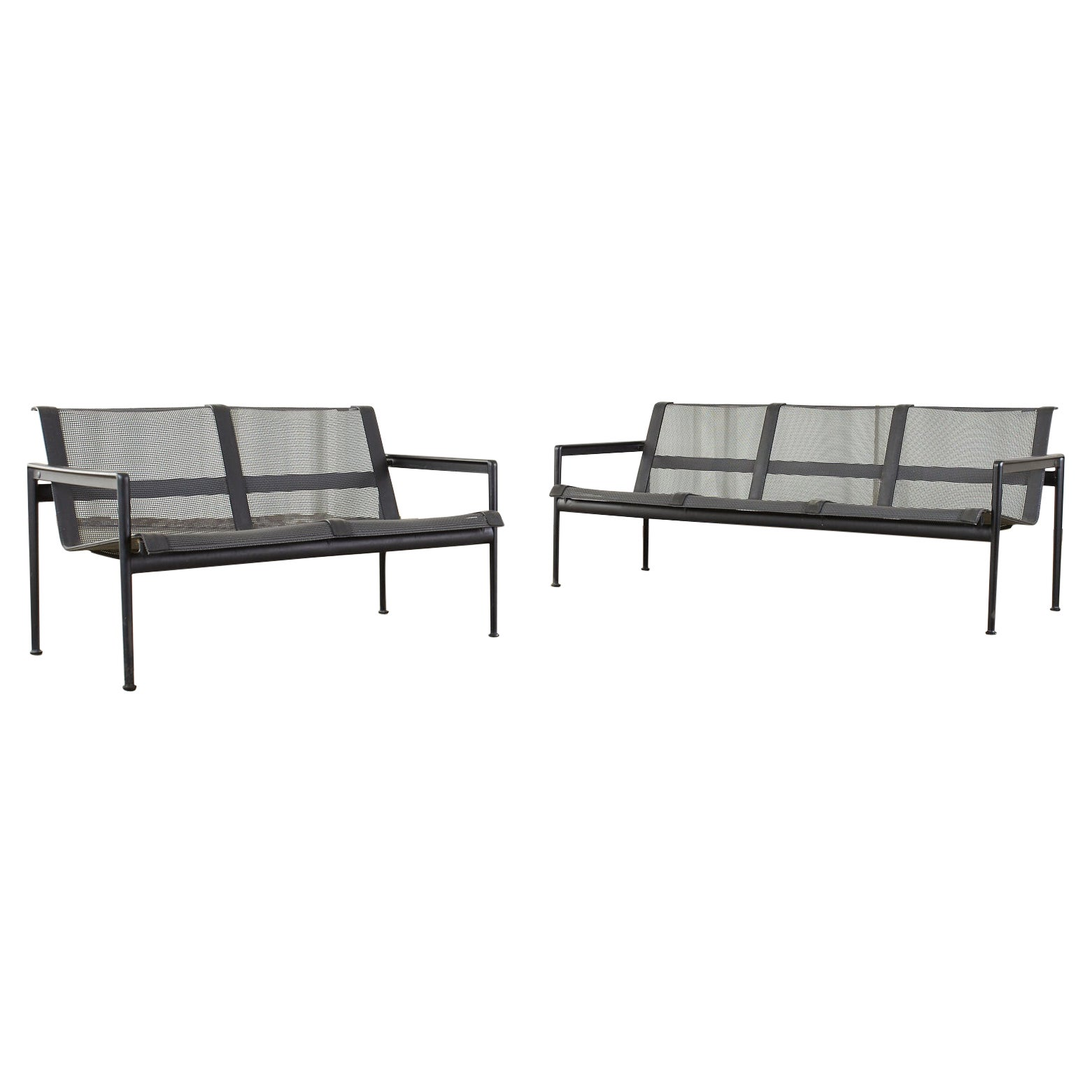 Pair of Richard Schultz for Knoll Garden Lounge Settee and Sofa