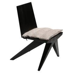 Black Arno Declercq, Dining Chair