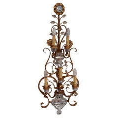 1970′ Wall Lamp in the Style of Maison Bagués or Banci