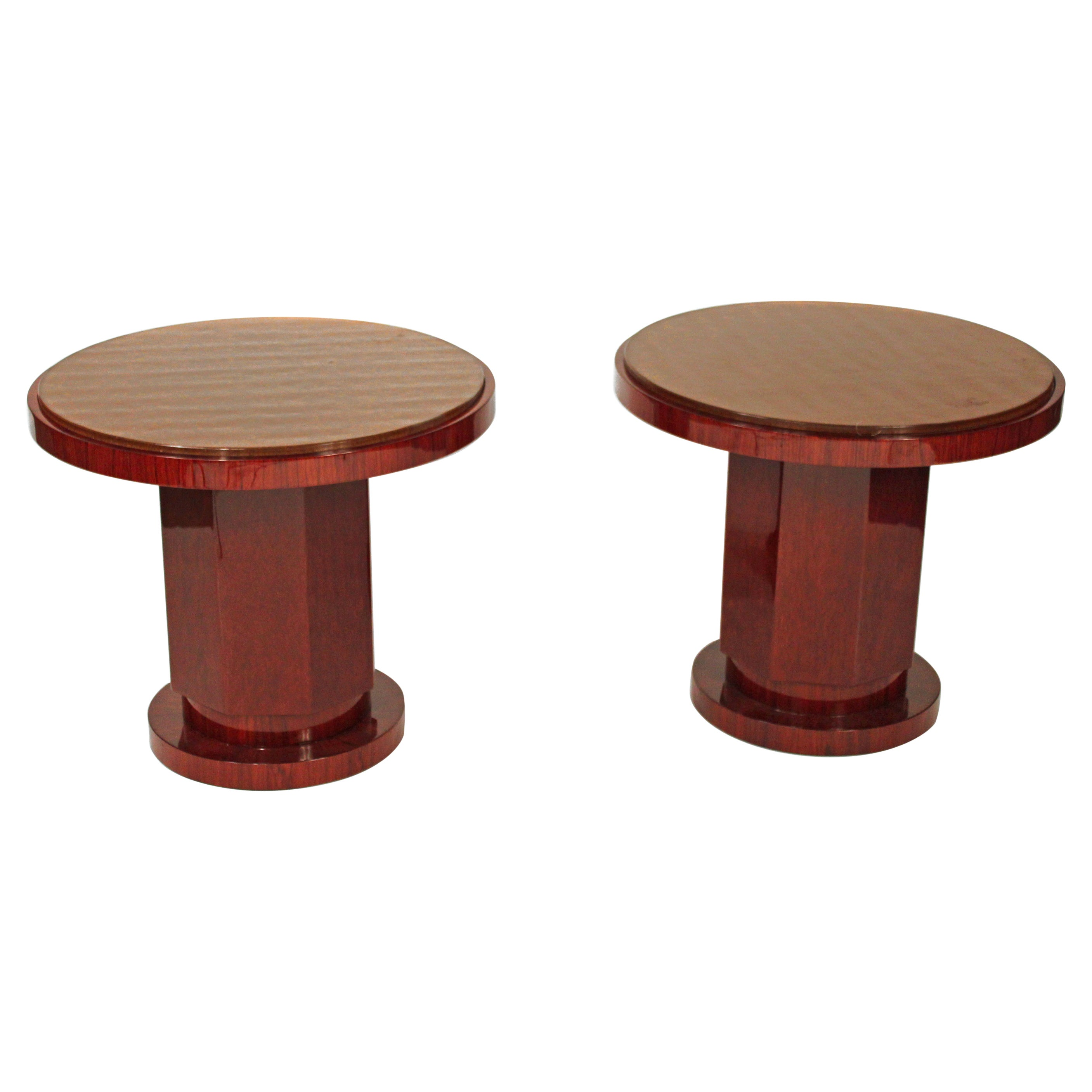 Pair of Art Deco Style Side Table