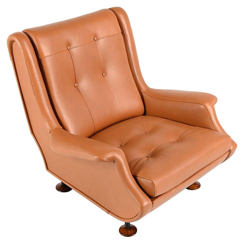 """Marco Zanuso, """"Regent"""" Armchair for Arflex"""