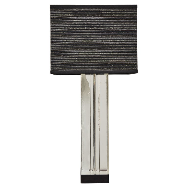 Lucite Table Lamp by Billy Haines For Sale
