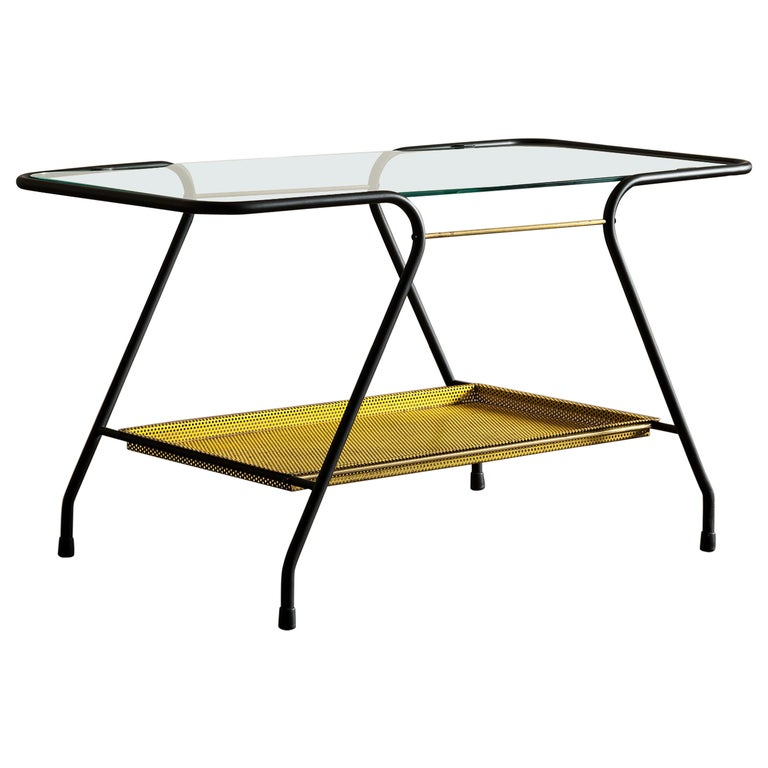 Side Table in the Style of Mathieu Matégot, France 1950s For Sale