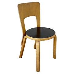 Alvar Aalto Bentwood Side Chair Model 66