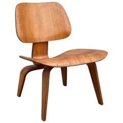 Early Eames LCW in Ash by Evans Products