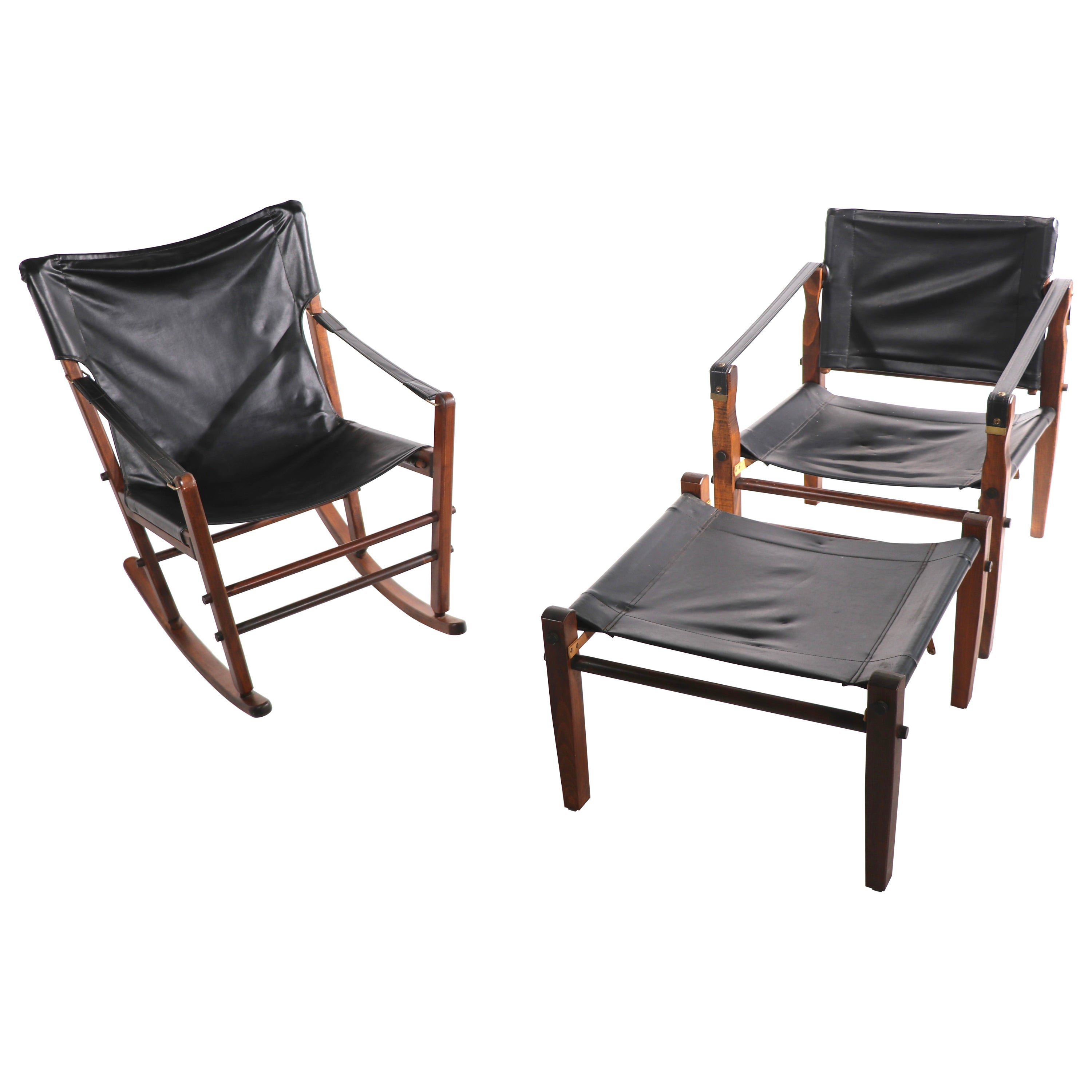 3 Pc. Suite Safari Chairs and Ottoman by Gold Metal Furniture Racine, Wisconsin