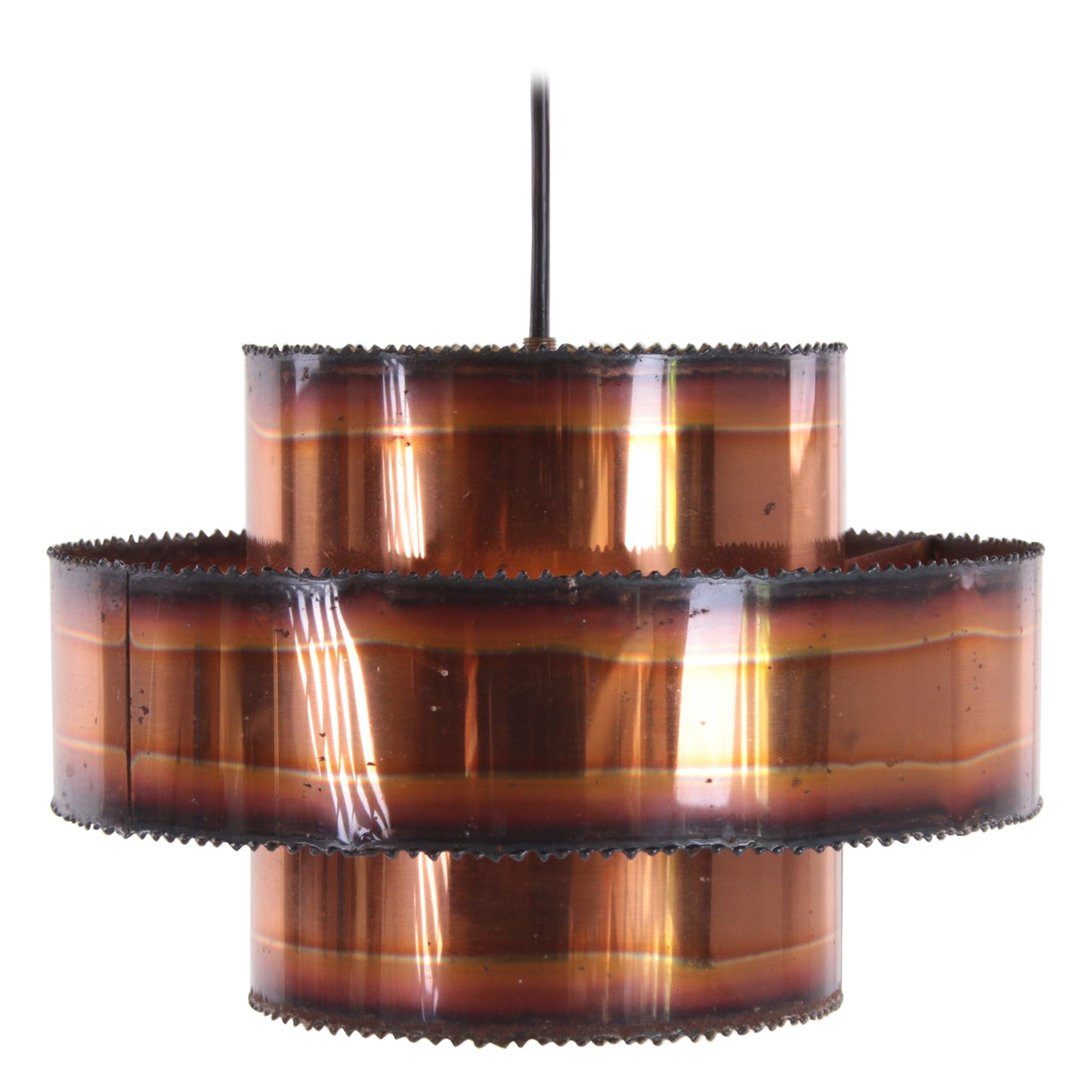 Brutalist Svend Aage Holm Sørensen Hanging Lamp