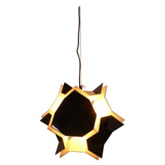 Space Age Acrylic Pendant Lamp by Christophe de Ryck for Dark, 1970s