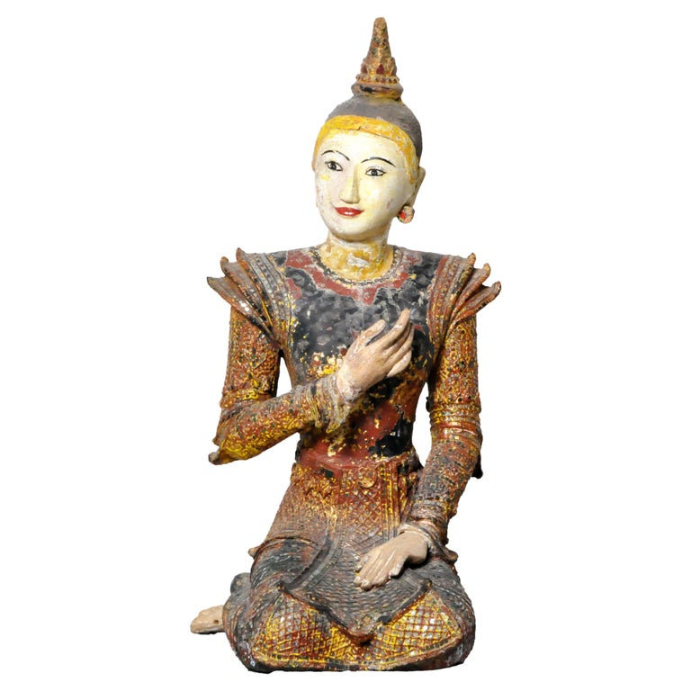 Figure of a Thai Angel For Sale