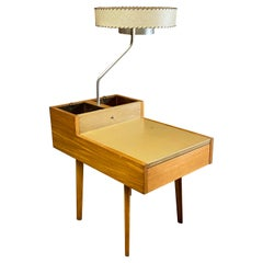 George Nelson for Herman Miller Lamp and Planter Table