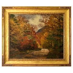 """""""Autumn Backroads"""" by Robert Emmett Owen"""