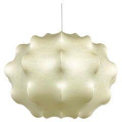 Rare Cocoon Pendant Light by Tobia Scarpa for Flos, 1960s, Italy